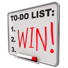 get results-keep score-win