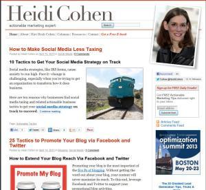 Heidi Cohen.com