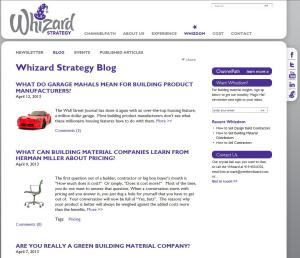 Whizard Strategy