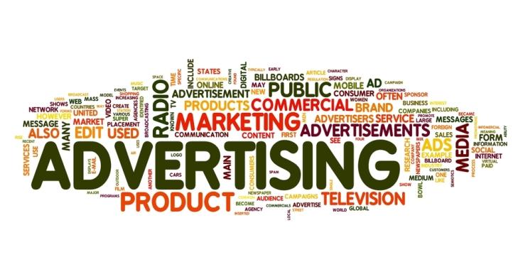 Advertising tips word cloud