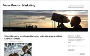 Focus Product Marketing