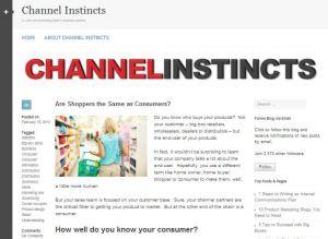 Channel Instincts Marketing Blog - First Post