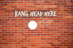 bang-head-against-brick-wall