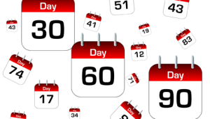 What does a 30 60 90 day action plan look like for a for First 90 day plan template
